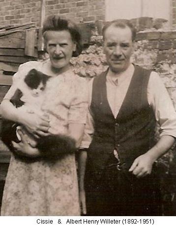 Cissie & Albert Henry Willeter