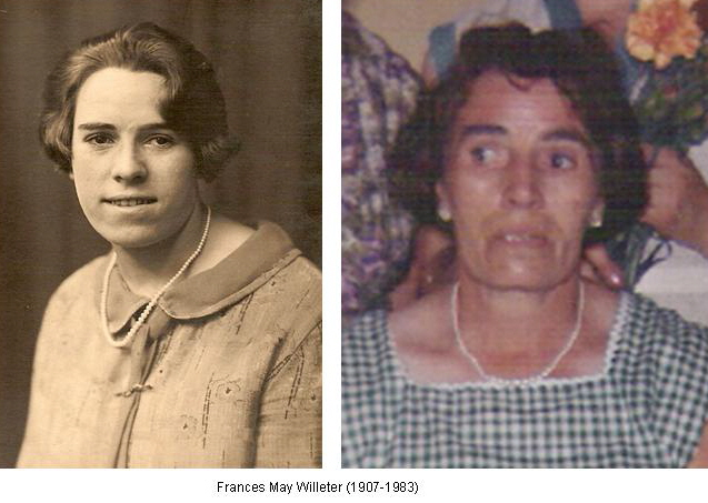 Frances May Willeter 1907-1983