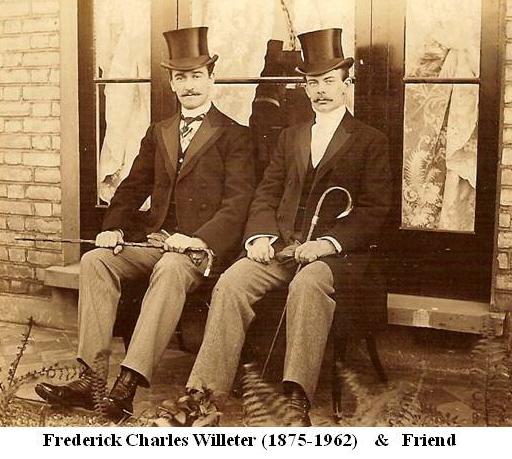 Frederick Charles Willeter & friend1