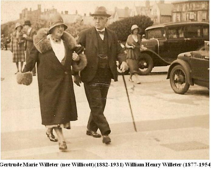 Gertrude Willicott & William Willeter