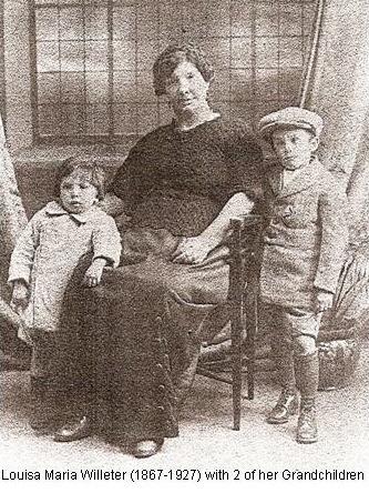 Louisa Willeter & Grandchildren